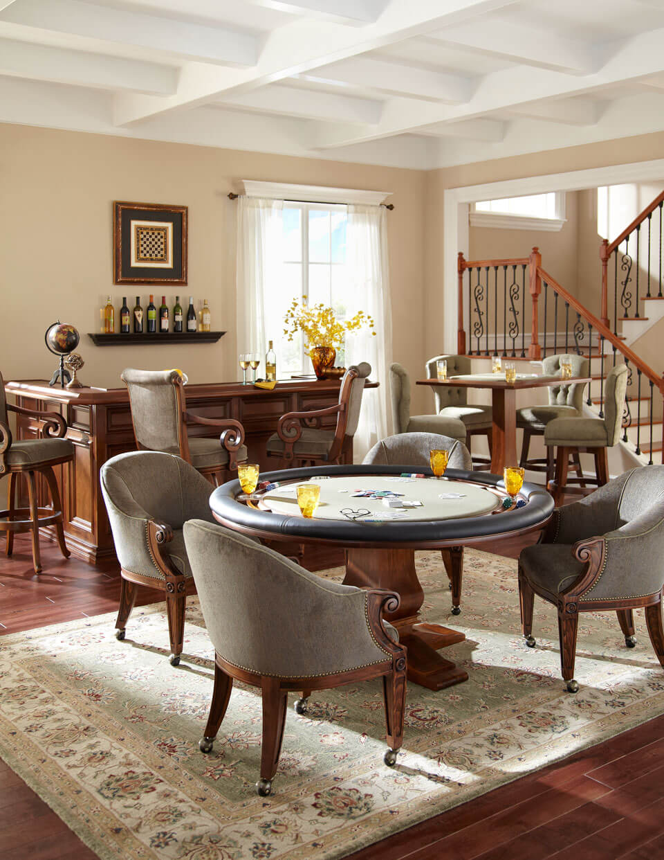 Game Room Furniture Raleigh Wilmington Poker Tables Nc