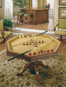 California House 3-in-1 game table