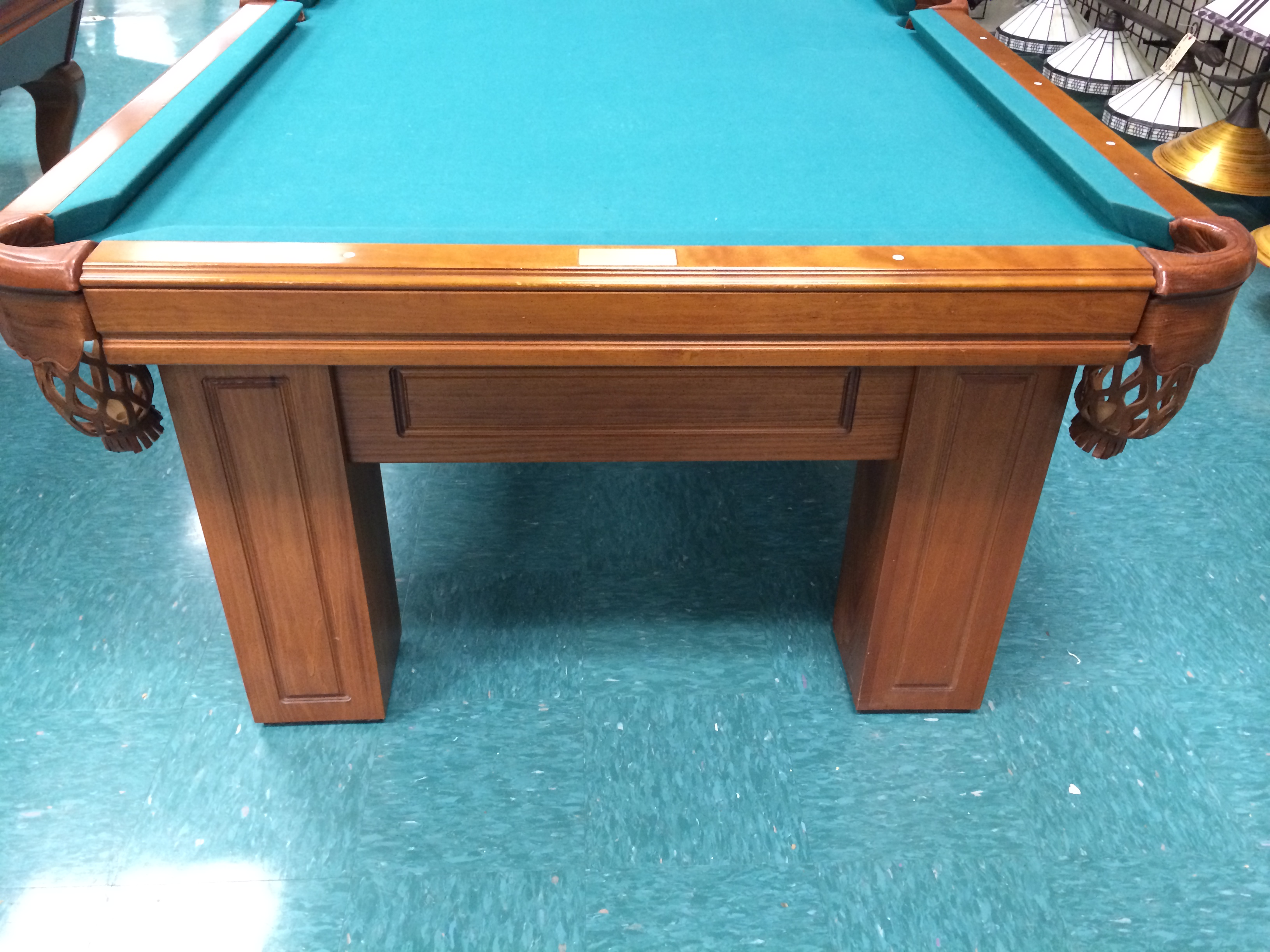 pre owned pool tables used pool tables atlantic spas billiards. Black Bedroom Furniture Sets. Home Design Ideas
