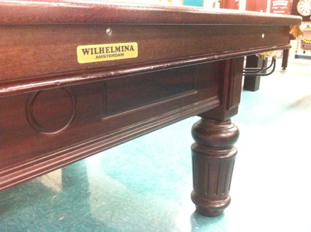12u2032 Wilhelmina Snooker Table