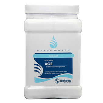 ace salt syste, hot tub salt, spa salt
