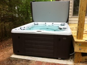 Vedak hot tub