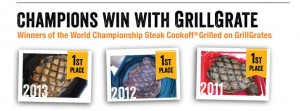 champions win with GrillGrate