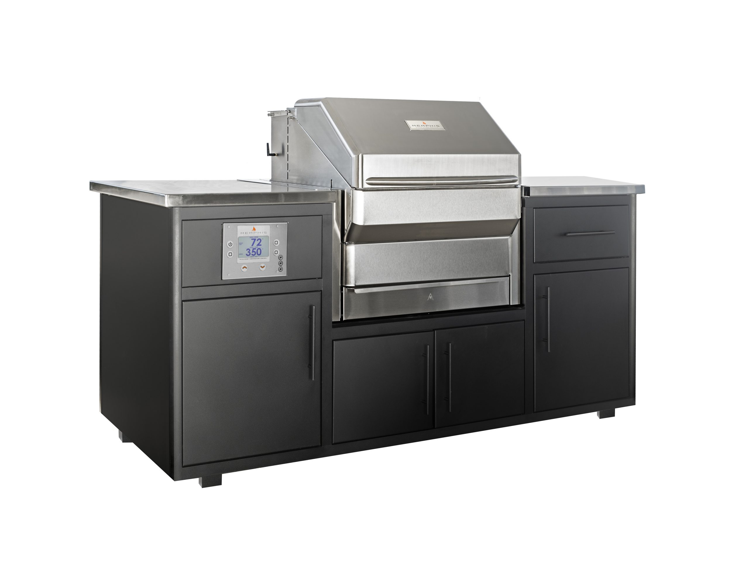 altantic spas Outdoor Kitchen with Pro Grill Built In
