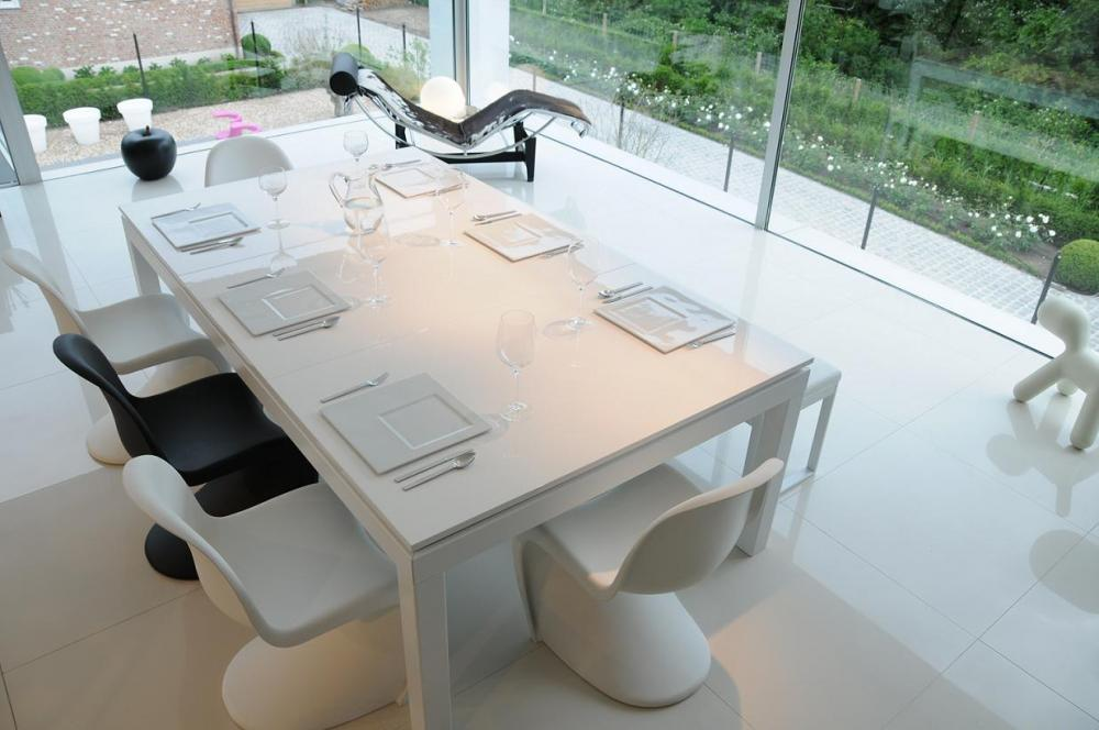 altantic spas White Powder Coated Table