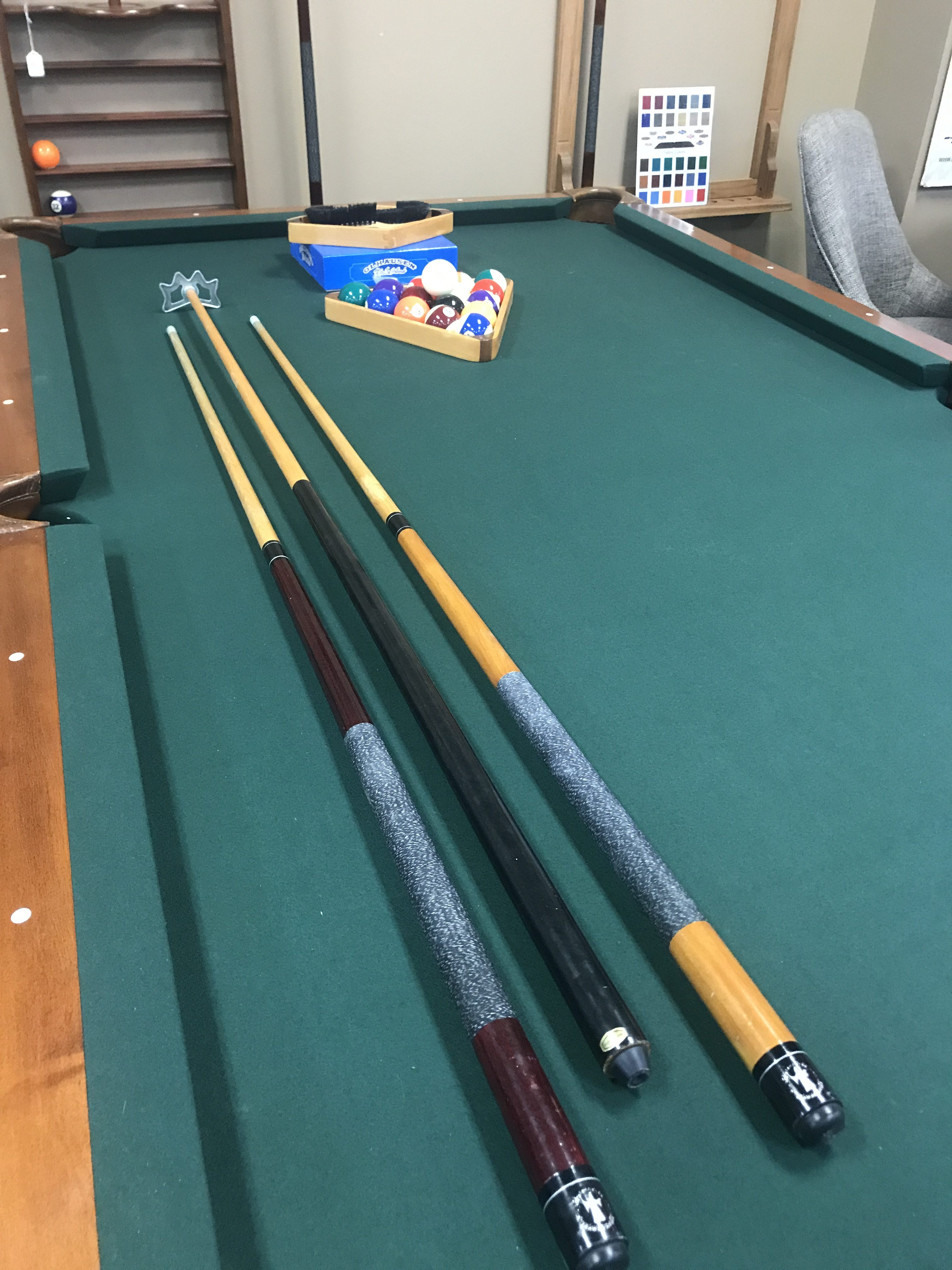 Used 8 Brunswick Pool Table At Everything Billiards Greensboro >> Pre Owned Billiards Tables Atlantic Spas Billiards